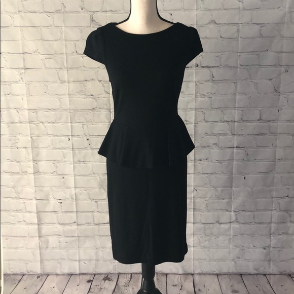 Boston Proper Dresses & Skirts - EUC LBD with Peplum